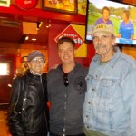 Jim Breur @ Famous Dave's with us!!
