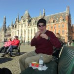 Belgian Fries, a Spicy Dip and a Medieval Hall