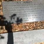 Hunley plaque