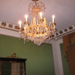 Beautiful chandelier in each room!
