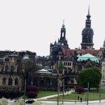 Zwinger und Stadt