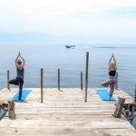 Yoga, Lake, Private dock.