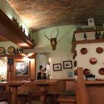The hotel pub/bar area.