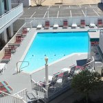 Our rooms in the main building overlook our heated outdoor Pool & Courtyard