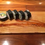 It looks like just a roll, but it was an amazing roll, the freshness and flavors were exceptiona