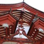 山門の装飾