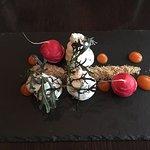 Netter Empfang und Bedienung kombiniert mit einer sehr feinen und ehrlichen Küche zu einem angem