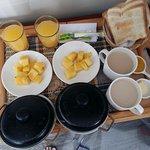 Uno de los tipos de desayuno.