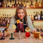 Our wonderful bartender Yvette