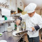 Our Chef takes passion for cooking to new levels