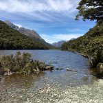 Lake on the Routeburn Track when walking towards the Key Summit
