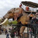 éléphant emblématique de nantes