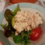 Excellent shrimp salad