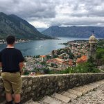 Hiking the Walls of Kotor...amazing views!