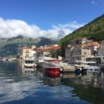The charming village of Perast.