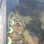 Aerial view of three Ko Olina lagoons!