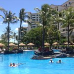 Marriott Ko Olina Beach Club; one of four pool areas!