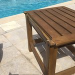 Just neglect of Royal pool furniture - 1 star junk table