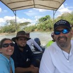 out for a guided trip with Donald to the Cano Negro river