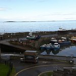 View from Bar/Restaurant. Harbour and Farne Islands