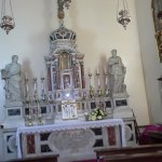 Side altar of Church in Main Square