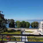 View of Léman Lake from the room