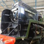 The Evening Star, the last steam train built in England