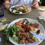 Sumptuous seafood buffet!