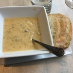 Potato soup with sausage