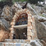 A Shrine on the road to the monastery.