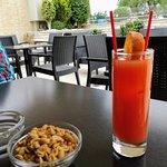My Campari with orange juice