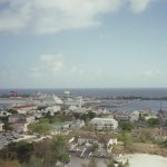 Hot, humid May day in Nassau (view from water tower)