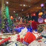 Enchanting Christmas magic from floor to ceiling