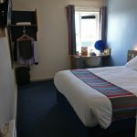 A typical Travelodge room