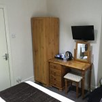 Dressing table and wardrobe