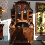 Peça de mobiliário do museu