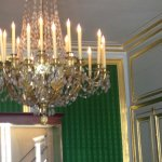 chandelier in royal apartments
