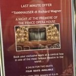 Offer to buy opera tickets
