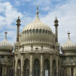 The royal pavilion up close.