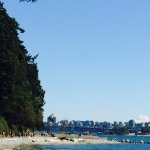 Seawall walk from  English Bay to Stanley  Park