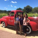 At one of the 4 wineries we visited during our tour
