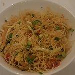 The Singapore rice noodle