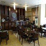 The bar/cafeteria