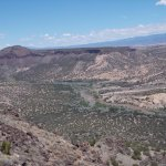 White Rock Overlook Park, White Rock / Los Alamos NM.