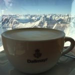 Amazing views of Germany, Austria, Italy, and some even say Switzerland. The Dalmeyer coffee is