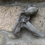 Driftwood carving