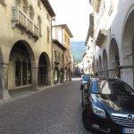 palazzo Brocca a sx e palazzo Sarcinelli a dx