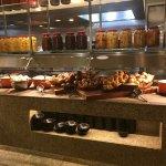 Multiple buffet areas