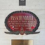 Passchendaele Memorial Lest we forget