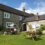 Sunday lunch in the garden. (See earlier review)